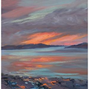 A beautiful sunset on the West Coast of Scotland.