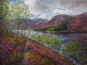 'Source of Inspiration Loch Muick' by Howard Butterworth
